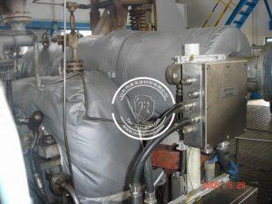 化工设备防火耐高温保温套